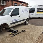 NHS Delivery Van Puncture Flat Tyre Callout by Mototyres 2 u