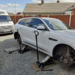 Jaguar F-Pace 4 Continental Tyres fitted by Mototyres 2 u