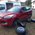 Ford Kuga Spalding Lincolnshire Tyre Replacement by Mototyres 2 u