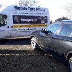 Mototyres 2 u Mobile Tyre fitting Lincolnshire Holbeach Tyres BMW Mototyres 2 u replacing runflat tyres